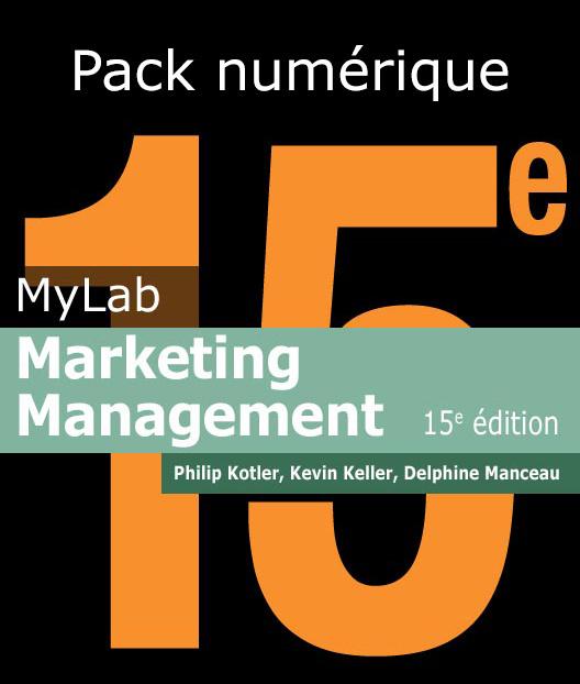 Marketing Management 15E by Kevin Keller,Philip Kotler 15th (Global Edition)