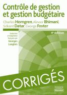 Corrigés de Contrôle de gestion et gestion budgétaire