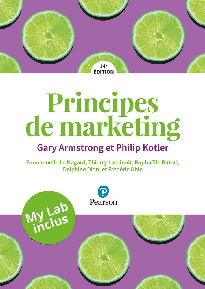 Principe des marketing, 14e édition