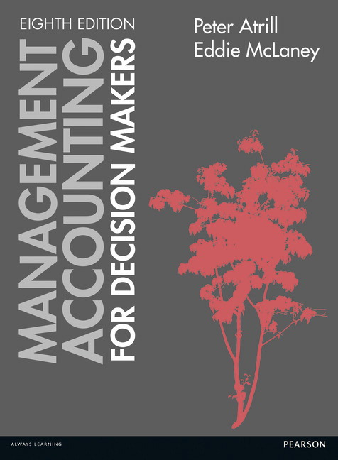 cover - Management accounting for Decision Makers