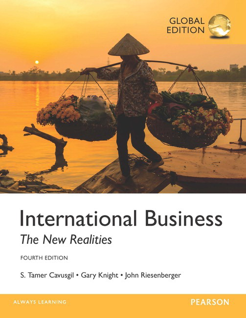 Cover - International Business: The New Realities
