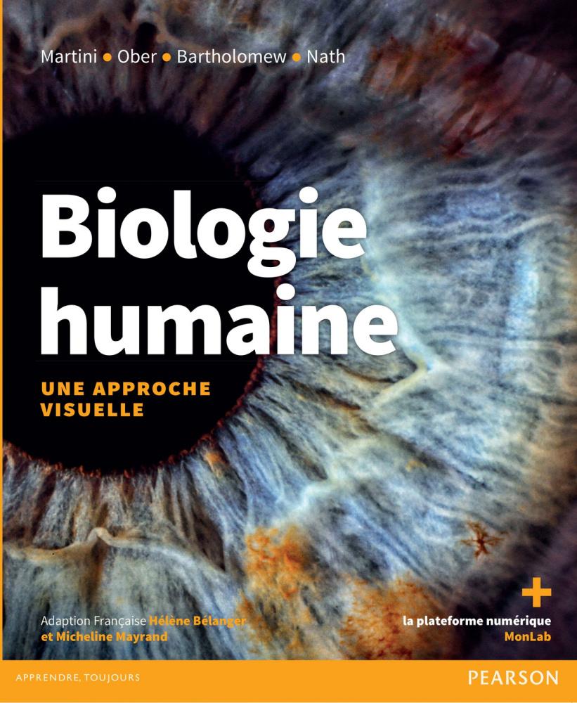 Couverture Biologie Humaine une approche visuelle