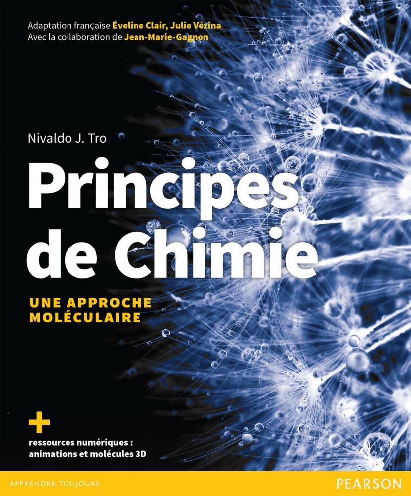 Couverture Principes de chimie