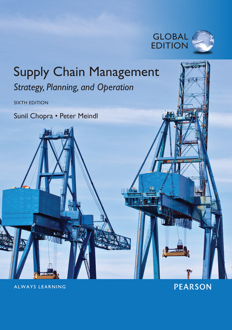 Cover - Supply Chain Management