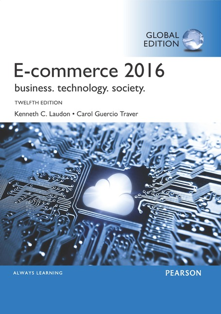 Cover - Ecommerce 2016: Business, Technology, Society