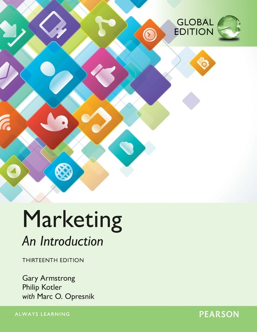 Cover - Marketing: An Introduction