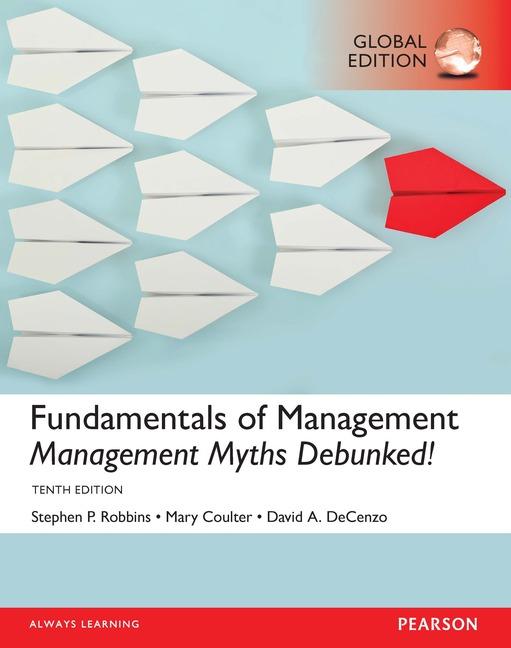 Cover - Fundamentals of Management: Management Myths Debunked!