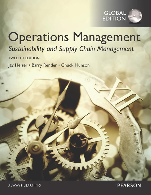 Cover - Operations Management