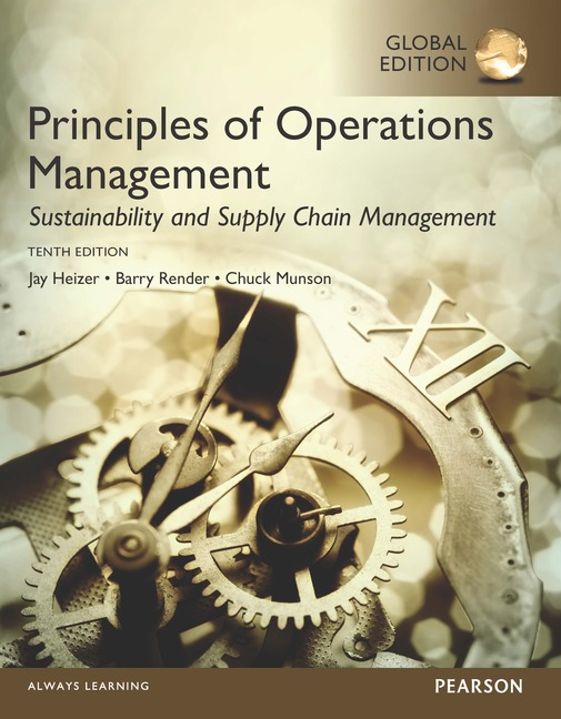 Cover - Principles of Operations Management
