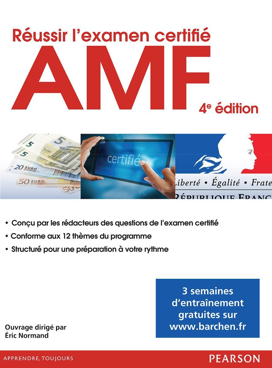 Couverture Réussir l'examen certifié AMF, 2e éd.