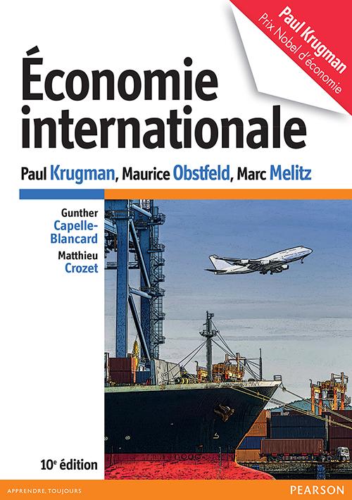 Couverture Economie Internationale - Krugman