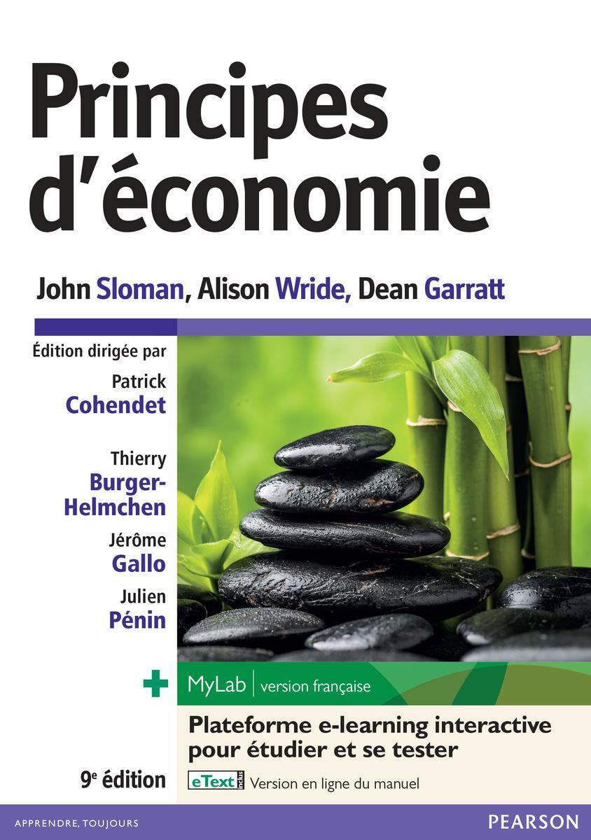 Couverture Principes d'Economie - Sloman