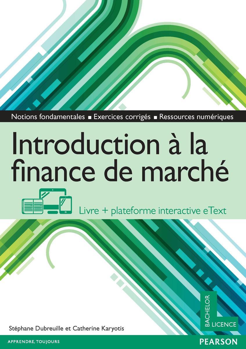 Couverture Introduction à la finance de marché