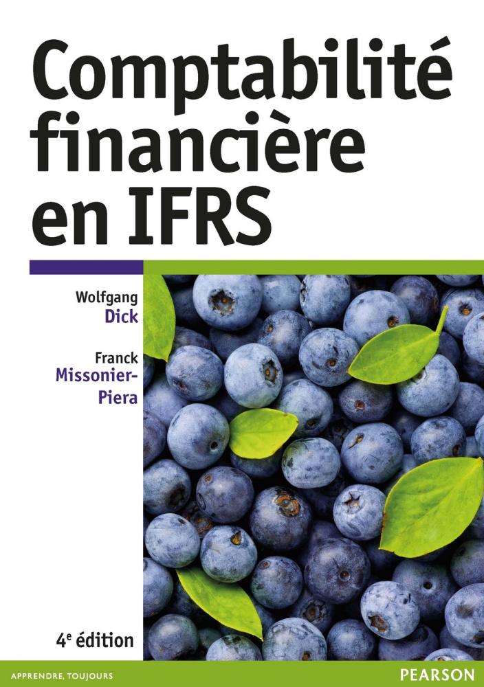 Couverture Comptabilité financière en IFRS