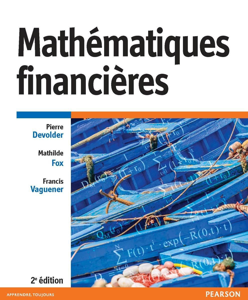 Couverture Mathématiques financières