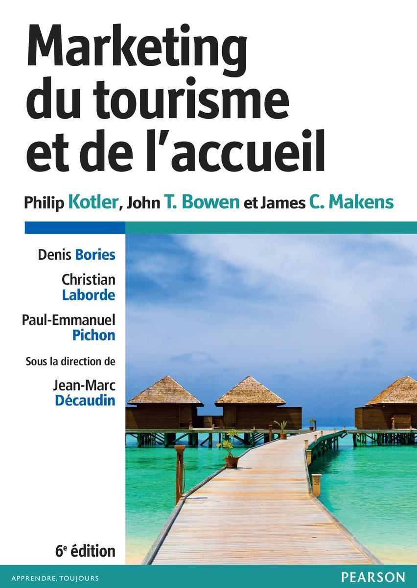 Couverture Marketing du tourisme et de l'accueil