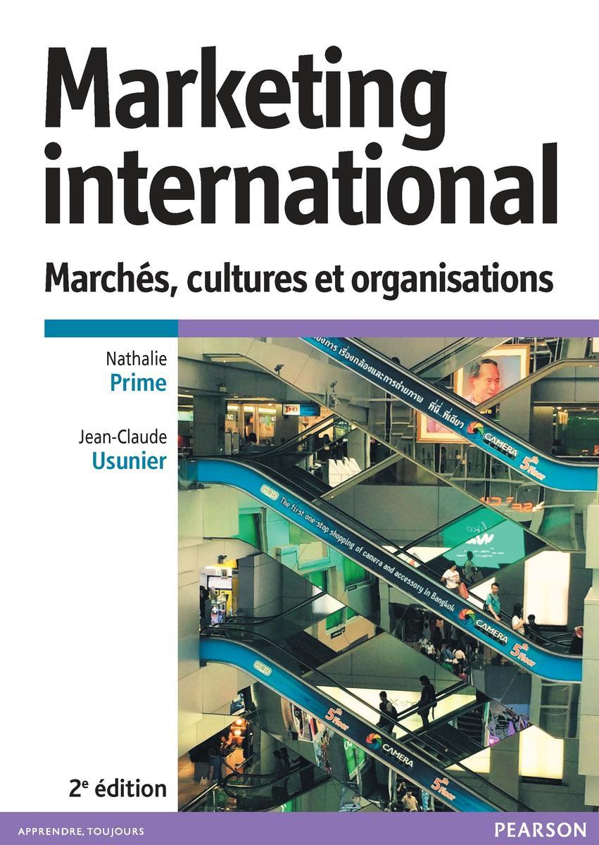 Couverture Marketing International, 2e éd.