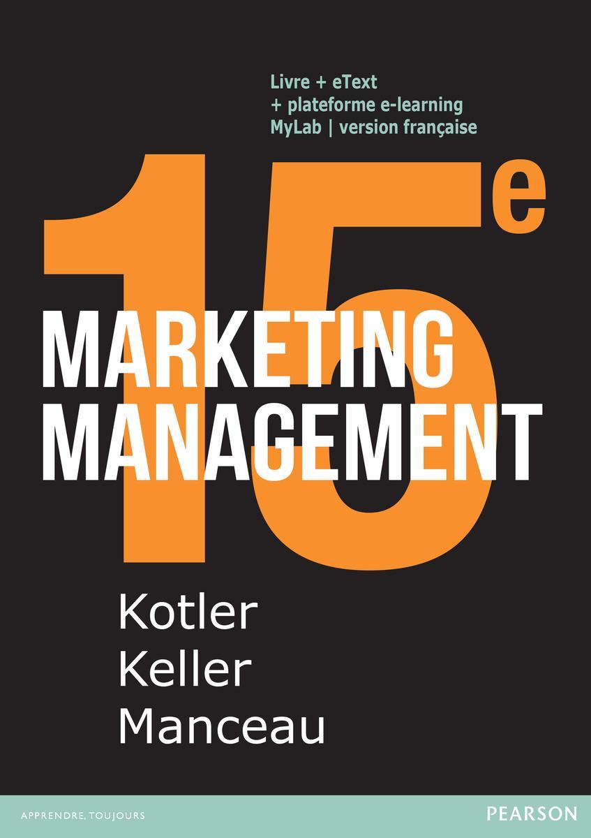 Couverture Marketing Management