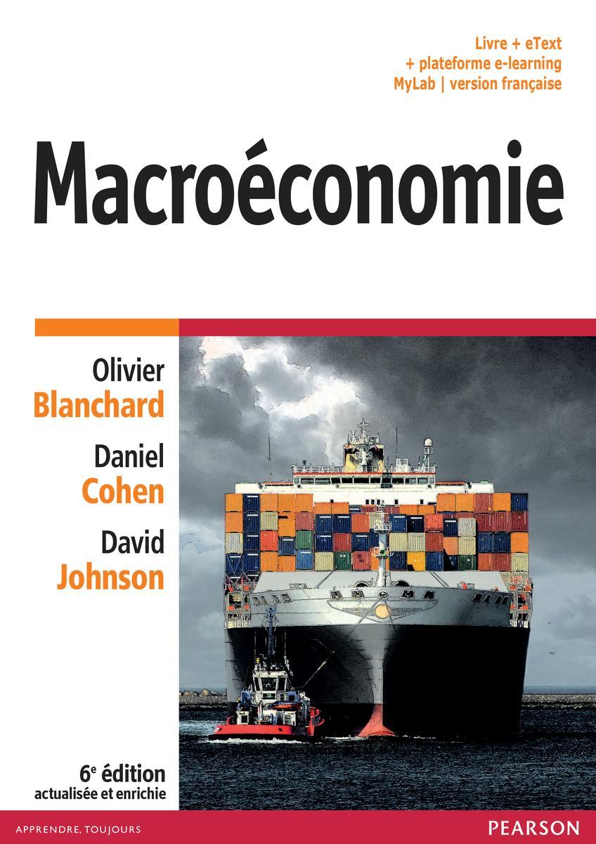 Couverture Macroéconomie - Blanchard