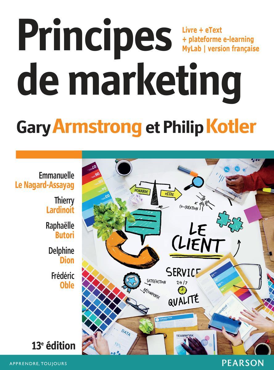 Couverture Principes de marketing 13e éd.