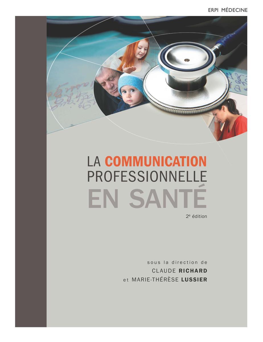 Couverture La communication professionnelle en santé