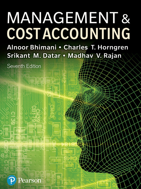 Management and Cost Accounting, 7/E