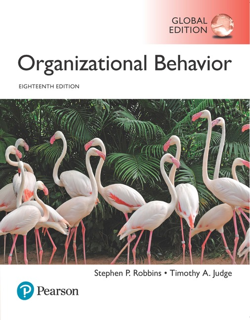 Organizational Behaviour, Global Edition, 18/E