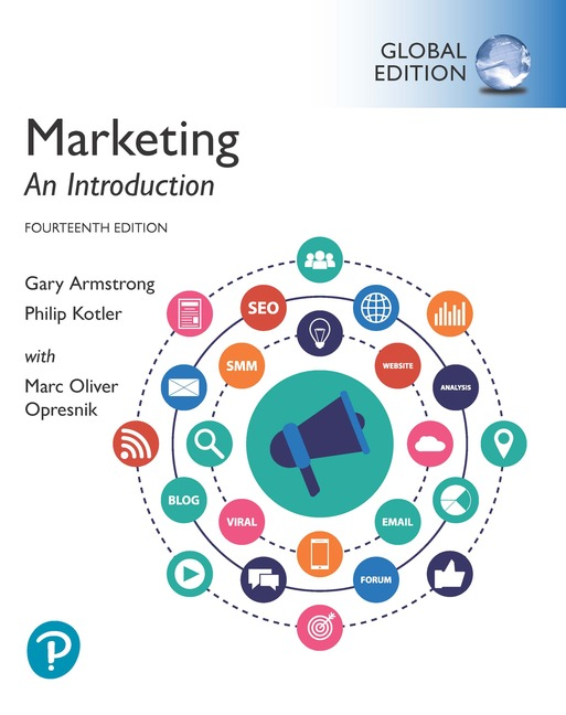 Marketing: An Introduction, Global Edition, 14/E