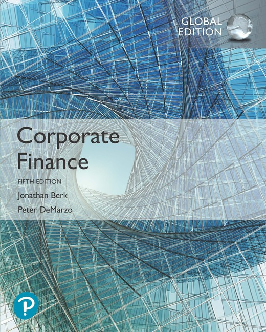 Corporate Finance, Global Edition, 5/E
