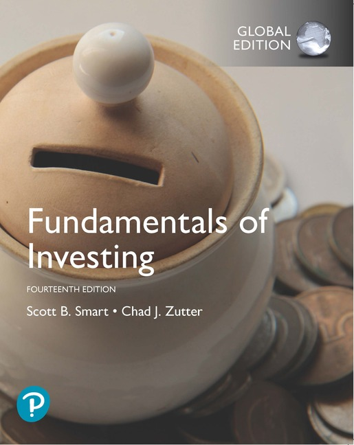 Fundamentals of Investing, Global Edition, 14/E