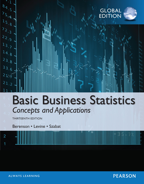 Basic Business Statistics, Global Edition, 13/E