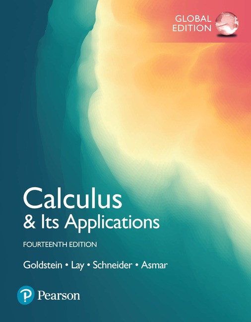 Calculus & Its Applications: Global Edition, 14/e