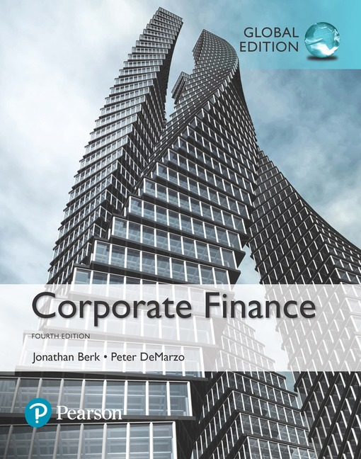 Corporate Finance, Global Edition, 4/E