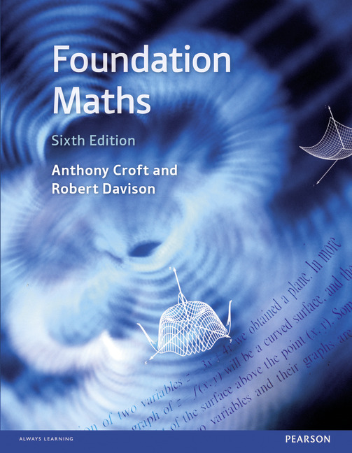 Foundation Maths, 6/e