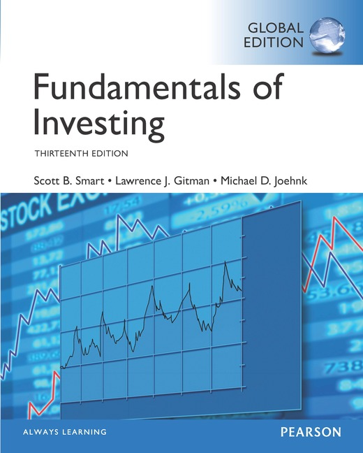 Fundamentals of Investing, Global Edition, 13/e