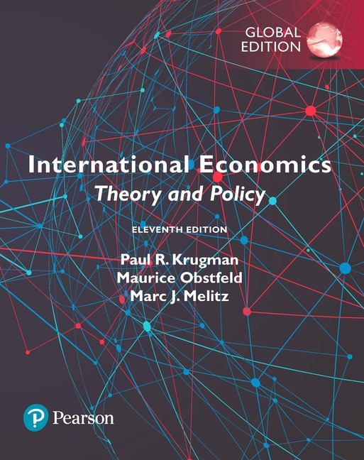 International Economics: Theory and Policy, Global Edition, 11/E