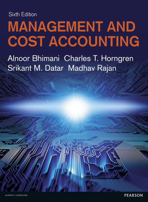 Management and Cost Accounting, 6/E