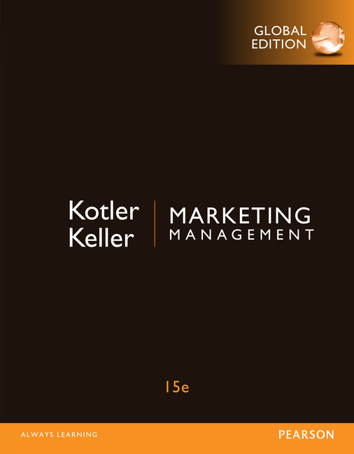 Marketing Management, Global Edition, 15/E
