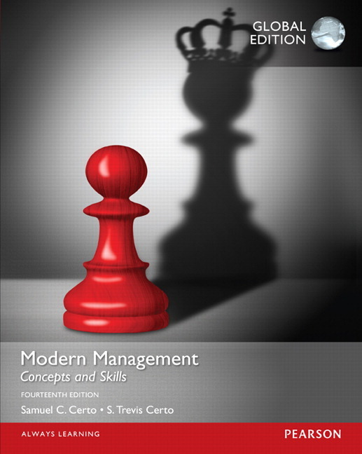 Modern Management: Concepts and Skills, Global Edition, 14/E