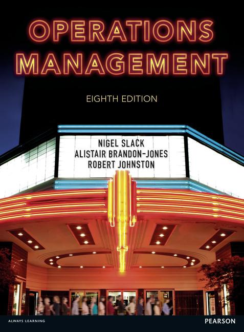 Operations Management, 8/E