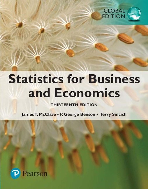 Statistics for Business and Economics: Global Edition, 13/e