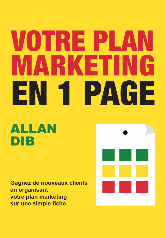 Votre plan marketing en 1 page