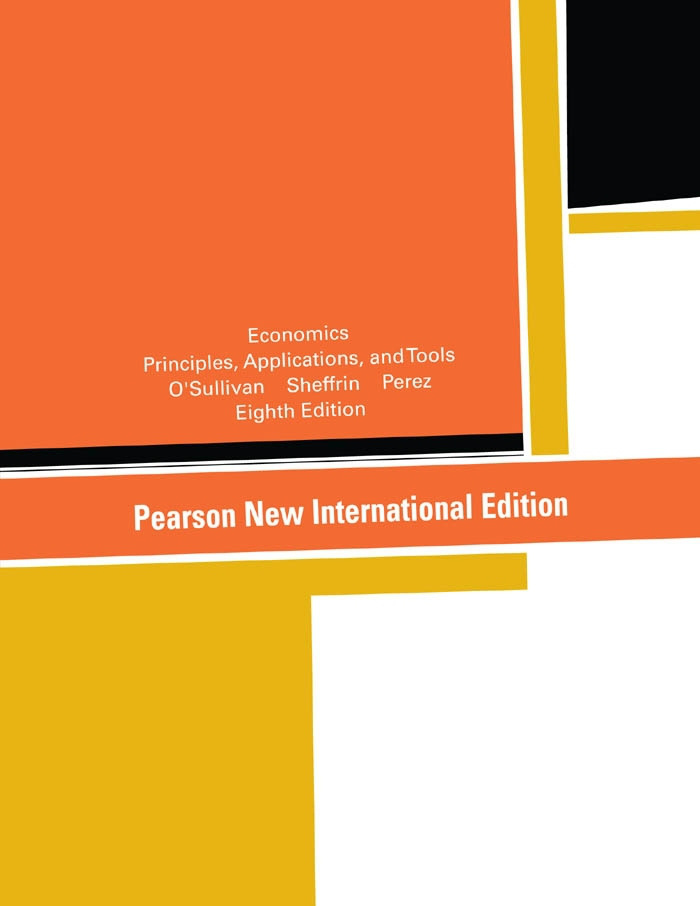 Economics: Pearson New International Edition