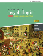 Introduction à la psychologie, les grandes perspectives