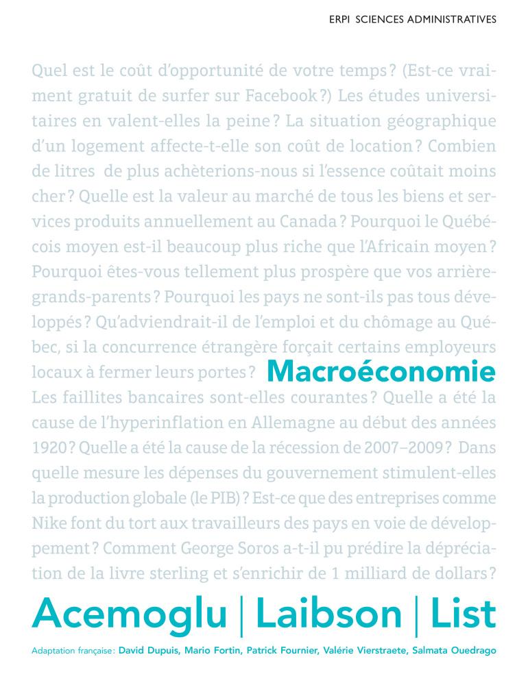 pdf livre accent macroeconomie pearson