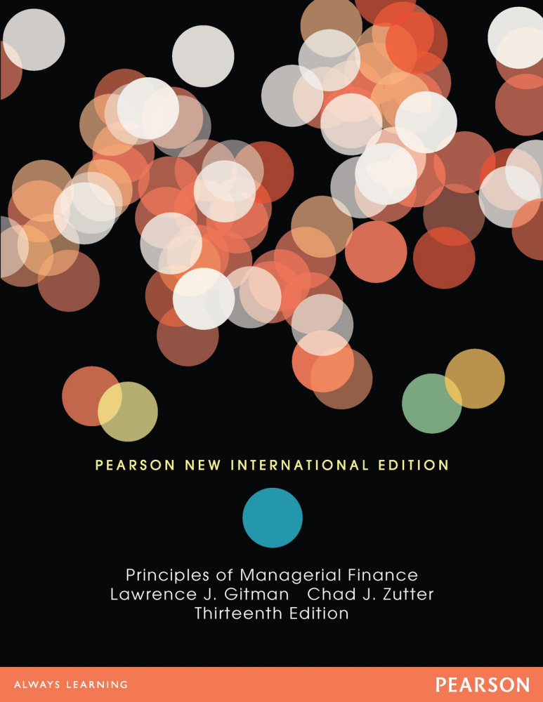 Principles of Managerial Finance, Brief: Pearson New International Edition