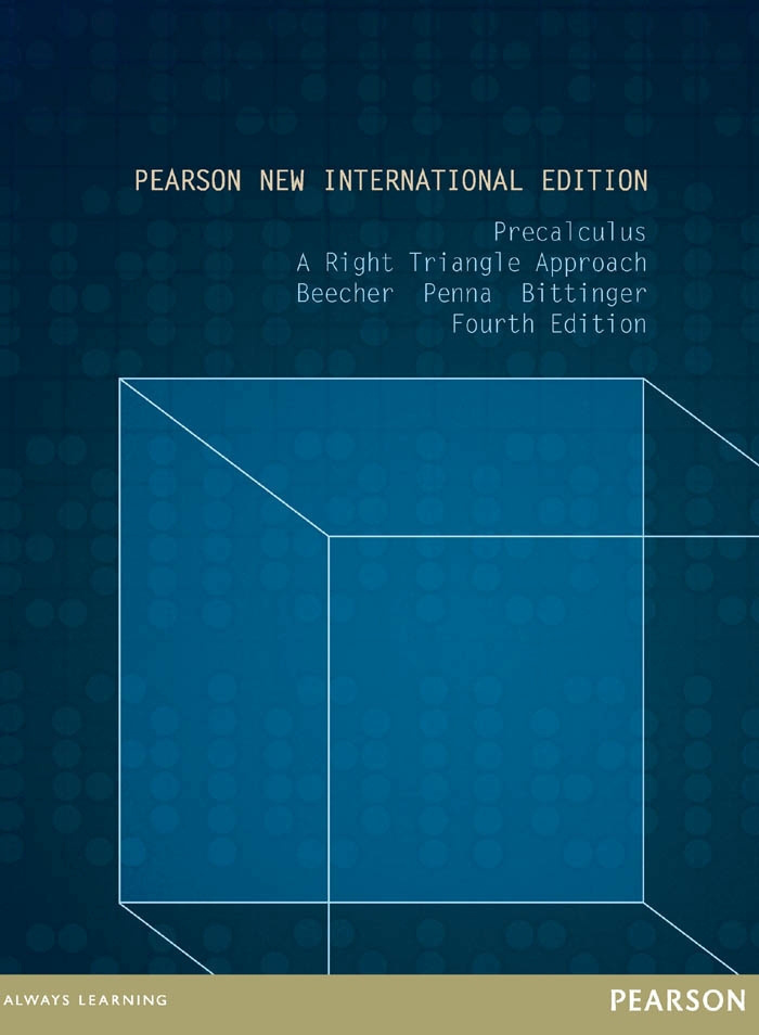 Precalculus: Pearson New International Edition