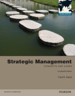 Strategic Management: Concepts and Cases Global Edition