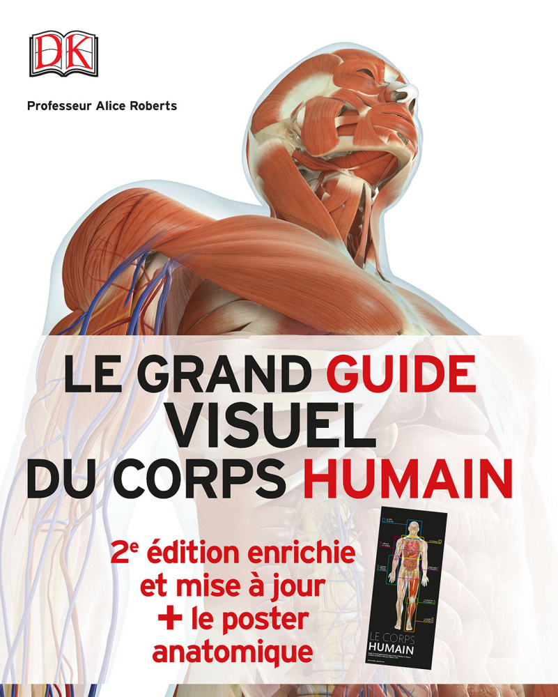 Pack Le grand guide visuel du corps humain