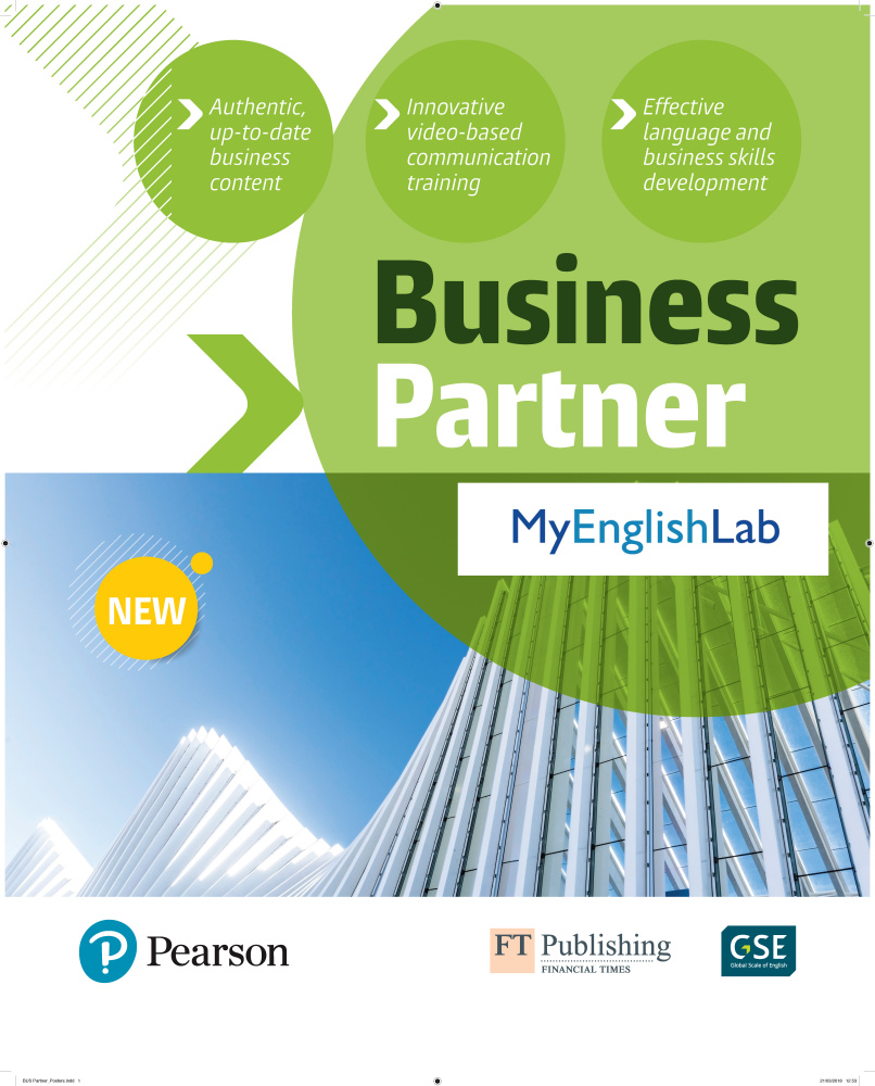 Business Partner eText + MyEnglishLab access code (All levels, 3 months)